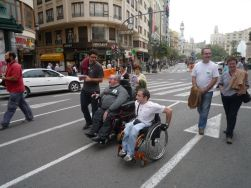 Persone con disabilit che manifestano