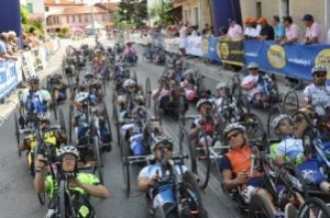 Gruppo del Giro d'Italia di Handbike 2012