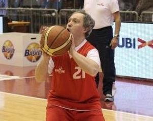 Giocatore di basket Special Olympics