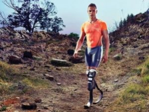 Foto di Oscar Pistorius in «People»