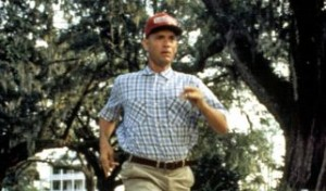 "Tom Hanks in ""Forrest Gump"""