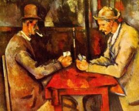 "Paul Cezanne, ""I giocatori di carte"", 1893"
