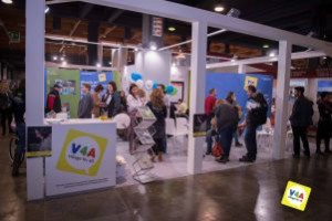 Stand di Village for all (V4A) a Gitando.all 2013