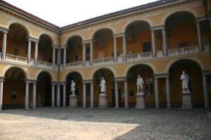 Cortile dell'Università di Pavia