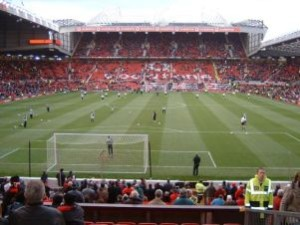Stadio Anfield Road di Liverpool