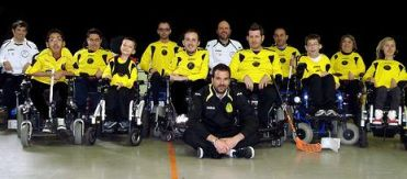 Coco Loco Padova di wheelchair hockey