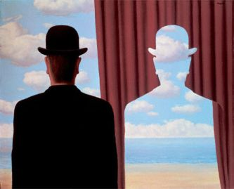 "René Magritte, ""Decalcomania"", 1966"