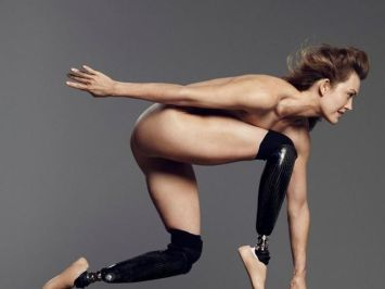 Amy Purdy per «The Body Issue»