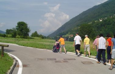 Percorso accessibile in Val di Non