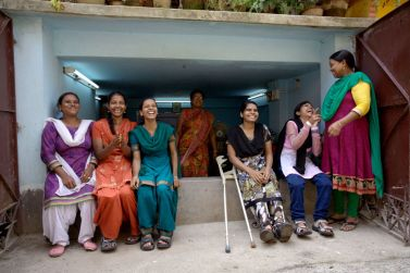 Calcutta, India: donne con disabilità di Casa Pangea