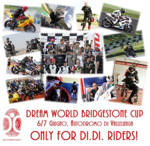"Locandina del ""Dream World Bridgestone Cup"", Vallelunga (Roma), 6 e 7 giugno 2015"