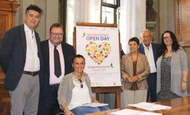 "Conferenza stampa del ""Montecatone Open Day 2015"""