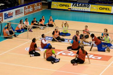 Partita di sitting volley