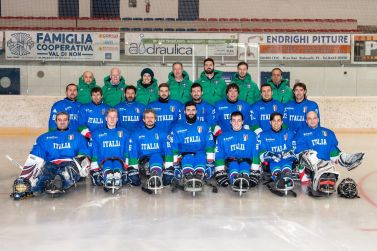 Nazionale Italiana di ice sledge hockey, Campionati Europei del 2016
