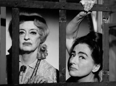 "Bette Davis e Joan Crawford in ""Che fine ha fatto Baby Jane?"", film di Robert Aldrich del 1963"