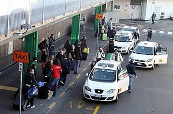 Taxi all'Aeroporto di Milano Linate