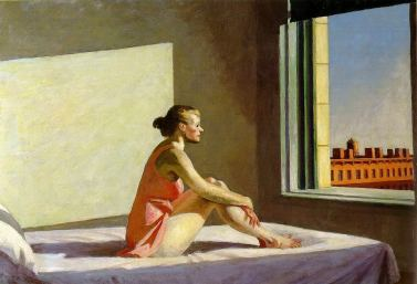 "Edward Hopper, ""Morning Sun"", 1952"