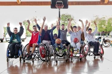 "Firenze, ""Disabili Abili Fest 2016"", wheelchair basket"