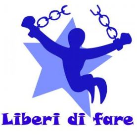 "Logo dell'evento ""Liberi di fare"""