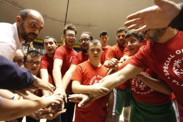 Special Olympics: basket unificato