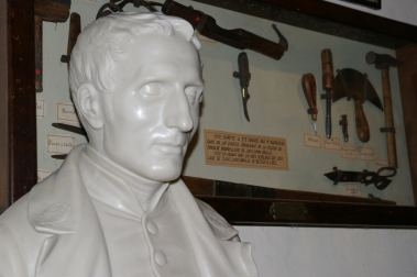 Busto di Louis Braille a Coupvray