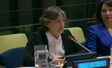 Paola Vulterini all'ONU (New York)
