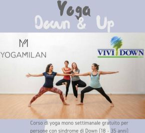 "Manifesto di ""Yoga Down & Up"", Milano, Vivi Down, 24 ottobre 2018"