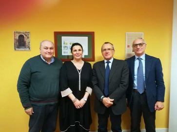 Domenico Dragone, Claudia Nicchiniello, Franklin Picker e Vincenzo D'Alterio