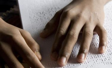 Lettura in Braille
