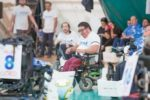 Una partita di powerchair football (©Pasquale D'Orsi)