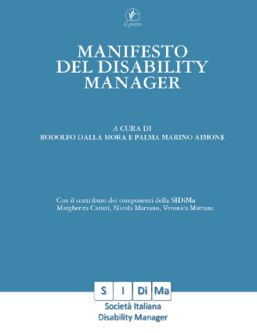 "Copertina del ""Manifesto del disability manager"""
