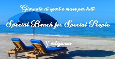 "Locandina di ""Special Beach for Special People"", 12 settembre 2020, Paestum (Salerno)"