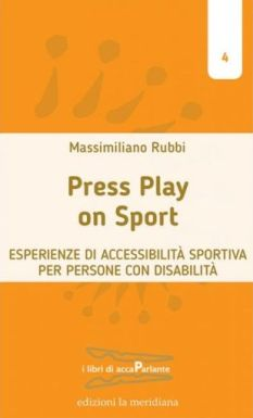 "Copertina di M. Rubbi, ""Press Play on Sport"""