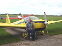 Immagine tratta dall'archivio della British Disabled Flying Association