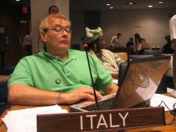 Giampiero Griffo è membro del Consiglio Mondiale di DPI (Disabled Peoples' International)
