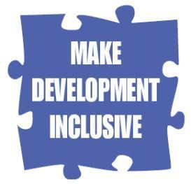 Logo del progetto «Make Development Inclusive»