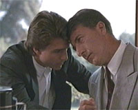 Dustin Hoffman e Tom Cruise in una scena del film «Rain Man»