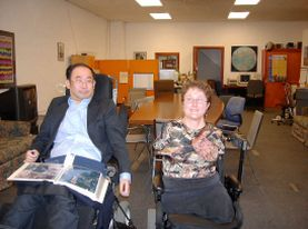 Al Center for Independent Living di Berkeley, in California, dove è nato, negli anni Sessanta, il Movimento per la Vita Indipendente