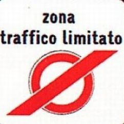 Cartello di Zona a Traffico Limitato