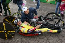 Claudio Mirabile con Alex Zanardi