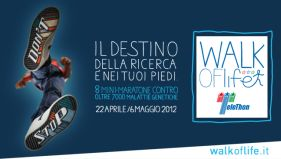 Il manifesto di «Walk of Life»