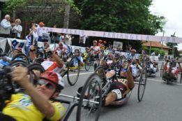 Tappa di Somma Lombardo del Giro d'Italia di Handbike 2012