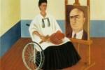 """Frida Kahlo, """"Autoritratto con il dottor Farill"""""""