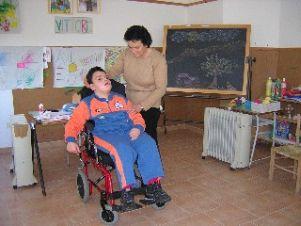 Alunno con disabilità a scuola