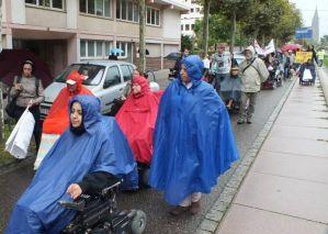 """Marcia """"Freedom Drive"""", Strasburgo, settembre 2013"""