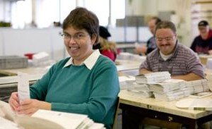 Persone con disabilità intellettiva al lavoro