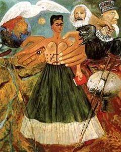 """Frida Kahlo, """"Il marxismo guarirà gli infermi"""", 1954"""