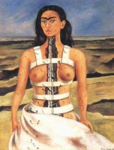 "Frida Kahlo, ""La colonna rotta"", 1944"