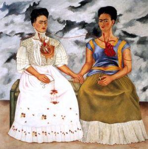 "Frida Kahlo, ""Le due Frida"", 1939"
