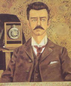 "Frida Kahlo, ""Ritratto di Wilhelm Kahlo"""